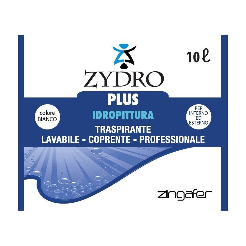 Colorificio Atria Zydro Plus Idropittura Lavabile Bianco 4 Lt 13682 8025937106214